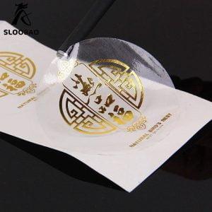 لیبل پی وی سی شفاف