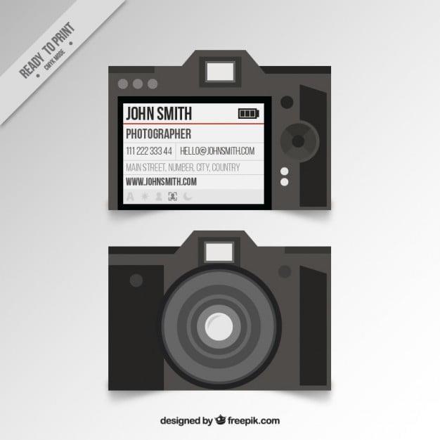 کارت ویزیت عکاسی خلاقانه