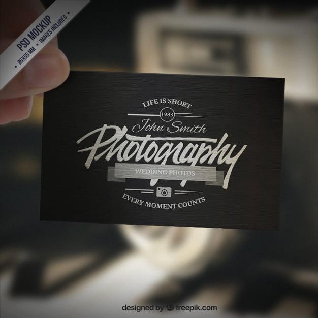 کارت ویزیت عکاسی کول