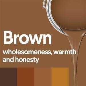 معنی رنگ قهوه ای
