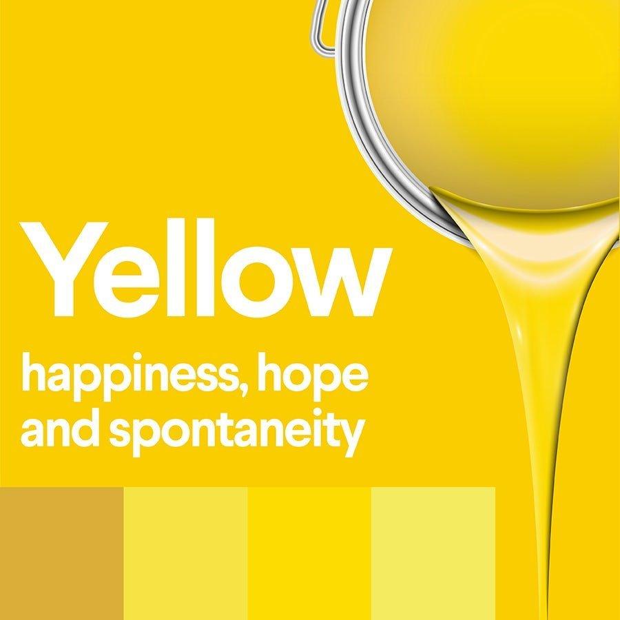 معنی رنگ زرد