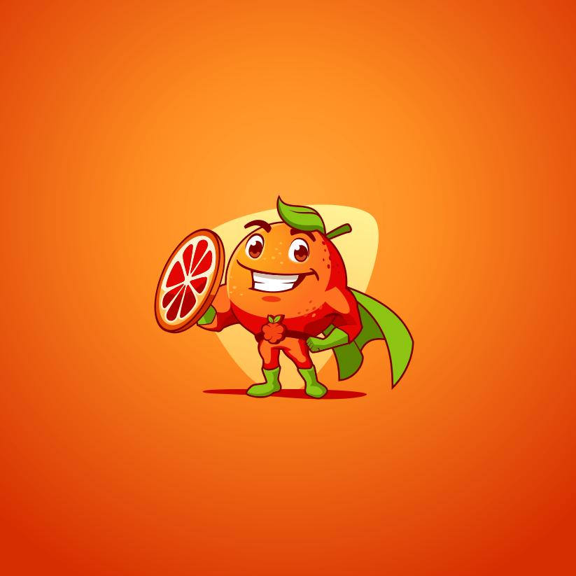 رنگ نارنجی در طراحی