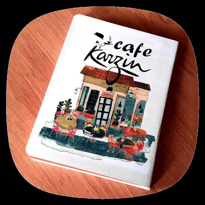منو-رستوران-کتابچه-ای
