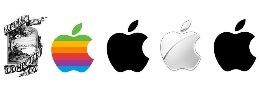 لوگو اپل 1976 تا امروز