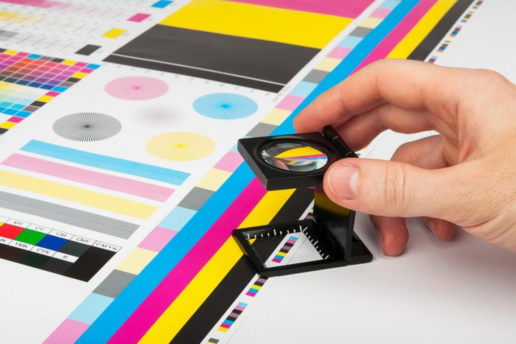 رنگ های دقیق چاپ دیجیتال